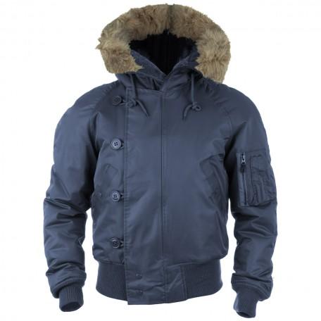 """Куртка зимняя лётная N2B """"Аляска"""" navy"""