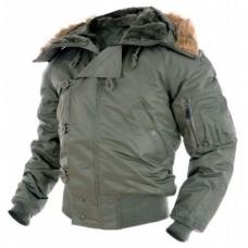 """Куртка зимняя Mil-Tec N2B """"Аляска"""" olive"""