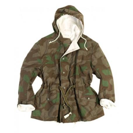 Куртка камуфляжная зимняя двухсторонняя утепленная (ватин) Вермахт Реплика,