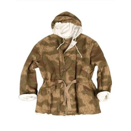 Куртка камуфляжная зимняя двухсторонняя утепленная (ватин) 2-я модель Вермахт Реплика,