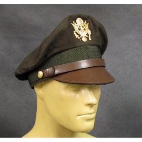 """Фуражка лётная офицерская """"US Pilot Visor Hat"""" WW2, реплика,"""
