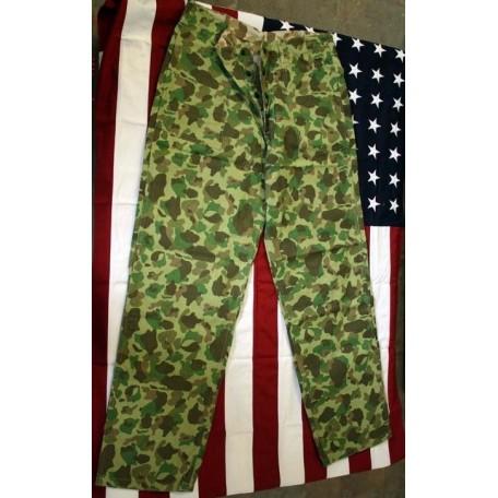 Брюки американские камуфляжные двухсторонние WW2 USMC HBT Реплика