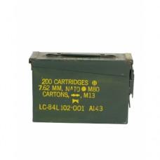 Ящик американский для патронов 7,62 (Cal.30) б/у, оригинал,