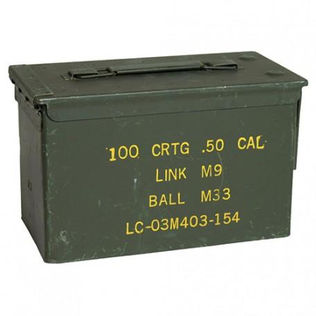 Ящик американский для патронов CAL.50 б/у, оригинал,