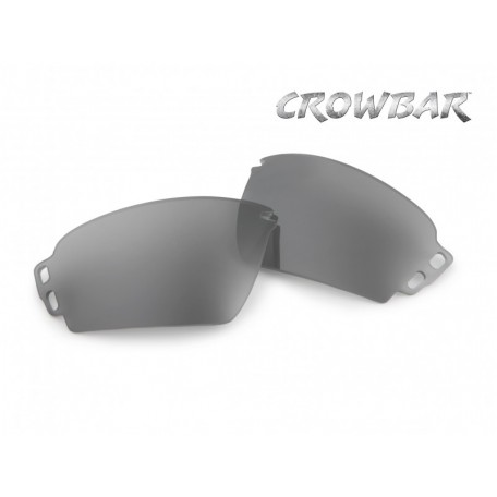 """Линзы сменные для очков Crowbar """"ESS Crowbar Mirrored Gray lenses"""""""