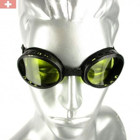 Очки швейцарские горные солнцезащитные военные, б/у (оригинал)