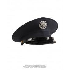 "Фуражка американская лётная ""DARK BLUE VISOR HAT US AF TYPE W.INSIGNIA LIKE NEW"""