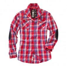 """Рубашка клетчатая с длинным рукавом """"SURPLUS Trooper Check Shirt 1/1"""""""