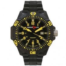 Часы ArmourLite Caliber Yellow (ремешок из нержавеющей стали)