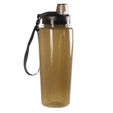 """Бутылка для воды (фляга) """"MIL-TEC SMOKE BOTTLE TRANSPARENT"""" (600 ml)"""