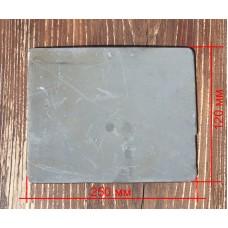 Металлокерамическая бронепластина (боковая) для Бронежилета FOPC –4 класс защиты (Стандарт Украины),