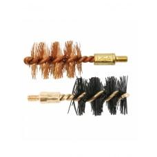 Набор ершиков OTIS 12 Ga Bore Brush 2 Pack (бронзовый и нейлоновый)