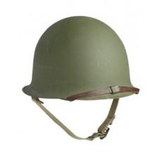Шлем французский M51 с подшлемником б/у
