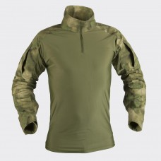 Рубашка тактическая Combat Black A-TACS-FG