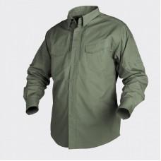 Рубашка Helikon Defender с д/рукавом - Canvas Olive