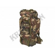 Рюкзак Combat Camping 65л Woodland