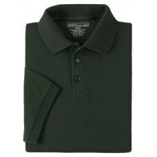 "Футболка Поло тактическая с коротким рукавом ""5.11 Tactical Professional Polo - Short Sleeve"" l.e. green"