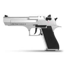 Пистолет стартовый Retay Eagle X  кал. 9 мм chrome