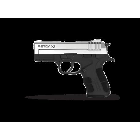 Пистолет стартовый Retay X1 кал. 9 мм. Nickel